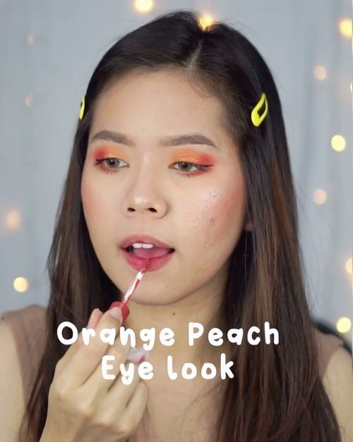 🌸peachy orange look🌼After long time gabikin kaya beginian...#indobeautyvlogger #makeupnatural #makeupideas #tampilcantik #tutorialmakeup #ragamkecantikan #clozetteid #indovidgram #cchannelbeauty #cchannelfellas #indobeautysquad #jakartabeautyblogger #beautybloggerindonesia #indovidgram #tiktokmakeup