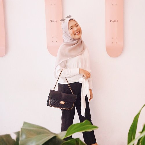 Hope we can have the courage to start transforming ideas into action💪🏻 have a great day everyone 🌸#clozetteid