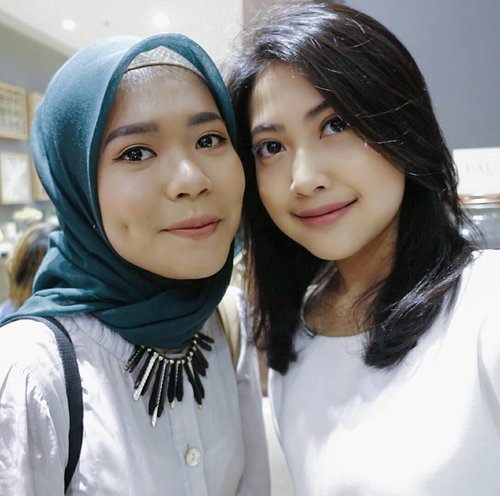 From yesterday event @votre_peau Launching at @lafayettejkt pasific place with my babe😍💕review soon on my blog (dessydiniyanti.blogspot.com)  #beautyjournalxvotrepeau #beautyjounal #votrepeauatlafayette #votrepeauskincare @beautyjournal