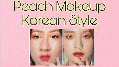 🌅Peach Makeup korean style 🌅Base makeup@makeoverid Hydtation serum @maxfactorindonesia Foundation Face Finity 3in1@nyxcosmetics_indonesia cheek contour duo pallette @getthelookid Loreal true match concealer @id.oriflame Blush on Makeup Pro Marble Blend Blush @pondsindonesia BB Magic Powder @getthelookid Loreal True match LUMI Shimmer & Highlight_Eyes :@getthelookid Lash paradise @sariayu_mt eyeshadow kit J-01@lancome eyeliner _Eyebrow : @getthelookid Loreal brow artist xpert Maybelline Eyebrow Mascara fashionbrow_Lips : @charisceleb Airy Ink Velvet @pixycosmetics lipcream 06 Bold Maroon ....#selca #tutorialmakeup #kmakeup #koreanmakeup #clozetteid #cchannelbeautyid  #beautynesiamember @beautynesia.id #kbbvfeatured @kbbv.id #beautiesquad @beautiesquad #beautyinfluencerindo  @tips__kecantikan #beautybloggerindonesia @beautybloggerindonesia #bloggermafia #indonesianfemaleblogger #tampilcantik @tampilcantik #fdbeauty #indobeautysquad @indobeautysquad #zonamakeupid @zonamakeup.id #beautygoersid  @beautygoers #indobeautygram #ivgbeauty @indovidgram @indobeautygram #bunnyneedsmakeup @bunnyneedsmakeup @ragam_kecantikan