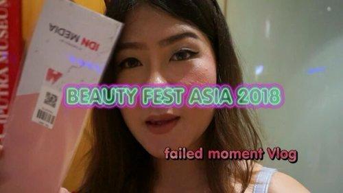Failed moment Vlog story - Beauty Fest Asia 2018..Moment failed :: ceritanya sudah buat vlog dengan sesi perbukaan diawal video tiba ada moment dari media tv ochannel untuk acara lifestyle  dan ditodong langsung interview ttg acara beauty fest asia 2018 . Jadi,,, lupa buat konten dan sisanya cuma ada moment video ini 😂😂😂__Kira2 gue udh cocok blm seh bawain acara tv 😂😂😂😂 #faliedkonten #clozetteid #bfa2018  #beautyfestasia