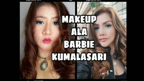 Kecantikan kak @barbiekumalasari Membuktikan rasa penasaran aku jd aku mencoba Recreate Makeup dr kak @barbiekumalasari . Ayoo penasaran kan ?? Gmn mnrt kalian ??. ... #fff #lll #likeforlike #Viral #ViralIndo #ViralIndonesia #ViralBanget #LagiViral #Trend #Trending #Hits #barbiekumalasari #clozetteid # #Indozone #DagelanVideo #NgakakKocak #NgakakSehat #Awreceh  #makeupalabarbiekumalasari #ikanasin #tutorialmakeup #galihginajar #barbiekumalasarioffcialchannel