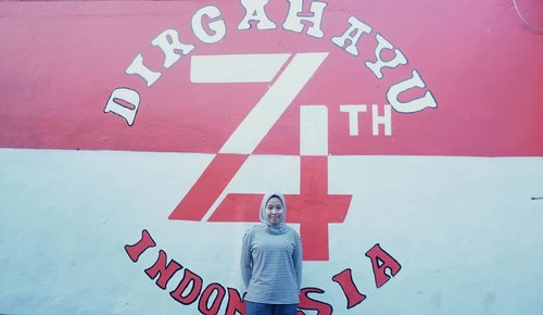 74th Indonesiaku 🇮🇩.#independenceday #clozetteid