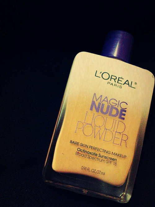 Love it..!!! Eh, sejak pakai Loreal Magic Nude Liquid Powder, saya ga pernah pakai bedak.. ^_^  #iritdotcom #loreal #liquidpowder #makeup