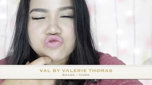 Full swatches & review @val.valeriethomas by @valerieethomas is finally up on youtube.com/kaniadachlan (setelah sebulan mager ngedit wkwk). Hope you guys like it~ Mwah 👄 #valbyvaleriethomas #clozetteid #beautynesiamember