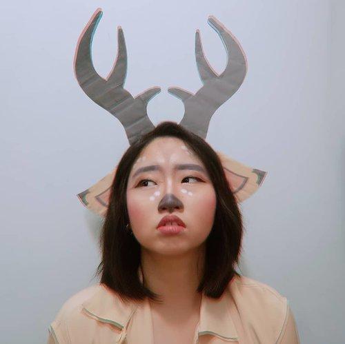 Wah! Gak nyangka ternyata hari ini bakalan ada Opening Ceremony @asiangames2018 nih 🎉 Apa sih yang udah kalian lakukan untuk #SukseskanAsianGames #AsianGames2018 kali ini? Kalau aku sih dengan cara membuat Makeup Look ala salah satu maskot Asian Games 2018 ini, nah support ku ini termasuk #WajahKolaborasia dan aku terinspirasi untuk membuat face painting nya @atungthedeer 💚 Mirip gak mirip, dimiripin aja lah ya? Wkwkwk.#AforAlinda #A #alindaaa #alinda #alindaaa29 #WajahKolaborasia #SukseskanAsianGames #AsianGames2018 #ClozetteID #byalindamakeup #beautyenthusiast #makeupenthusiast@beautycollab.id #BeautyCollabID @indobeautysquad #indobeautysquad  @beautiesquad #beautiesquad  @beautygoers #beautygoersid @beautychannel.id #beautychannelid@kbbvbyacb #kbbvbyacbFeatured