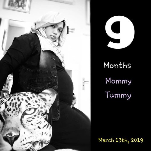 Wed, March 13th, 2019---🤰❤👶 Dear my baby lion prince 🦁, Mami will always protect u like a #tigermama #queen 🐯 ❤❤❤---#9months#Clozetteid#nhkkawaii#kawaiimom#36weeks#BabyBumps#mypregnancylife#momtobe#maternityshoot#maternityphotography
