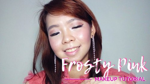 FROSTY PINK  | WINTER MAKEUP LOOK TUTORIAL ON OILY SKIN - YouTube