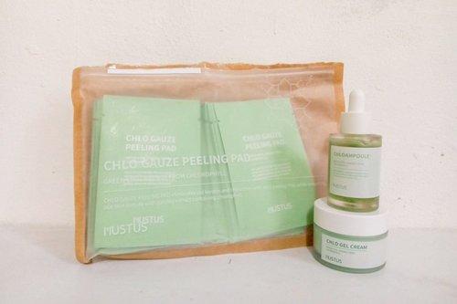 Mencoba Skincare Vegetarian Berbahan Klorofil ala Mustus Korea - MELS PLAYROOM