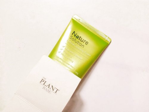 The Plant Base Natural Cleansing Foam, No More Double Cleansing?