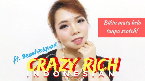 CRAZY RICH INDONESIAN MAKEUP COLLABORATION FT. BEAUTIESQUAD - YouTube