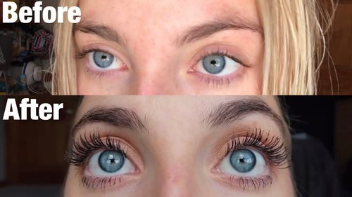 GROW YOUR EYELASHES: 30 Days of Castor Oil for Eyelash Growth | Morgan Green - YouTube