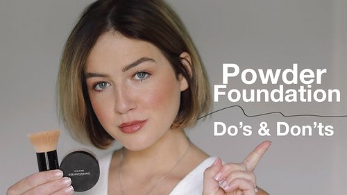 Powder Foundation Do's & Don'ts (from an Expert) - YouTube
