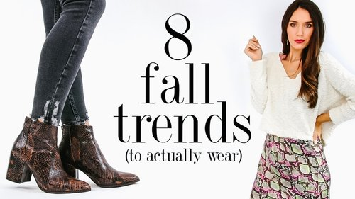 8 Fall FASHION TRENDS To Actually Wear in 2019! - YouTube