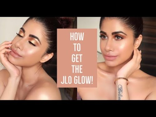"<div class=""photoCaption"">How to get the JLO GLOW! 