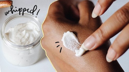 DIY BODY SCRUB | Whipped Sugar Scrub Recipe - YouTube