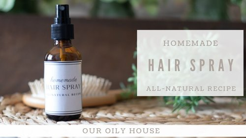 DIY Hair Spray Recipe | Hair Spray with Essential Oils - YouTube