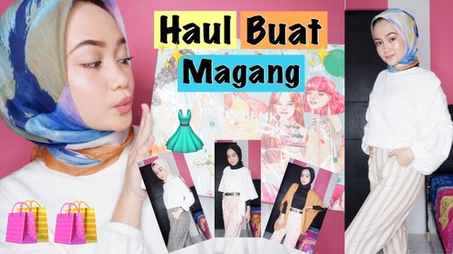 CLOTHING HAUL BAJU / CELANA / OUTFIT BUAT MAGANG dari BERRYBENKA + TRY ON | HIJAB OUTFIT IDEAS - YouTube