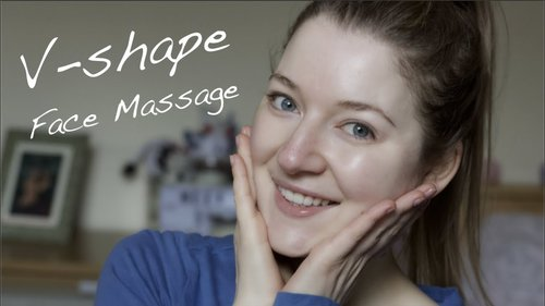 Get V-shape Face in 2 Months - Face Massage Tutorial & Challenge - YouTube