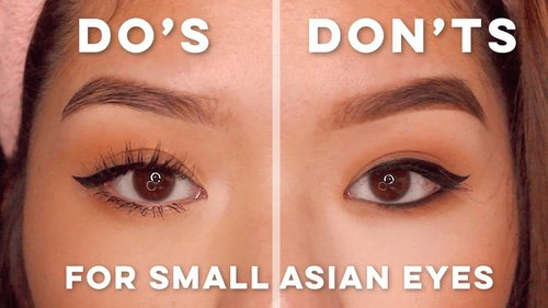 MAKEUP MISTAKES TO AVOID FOR SMALL ASIAN EYES - YouTube