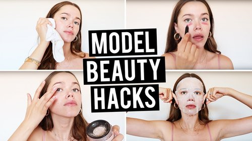10 Model Beauty Hacks You Need to Know - YouTube