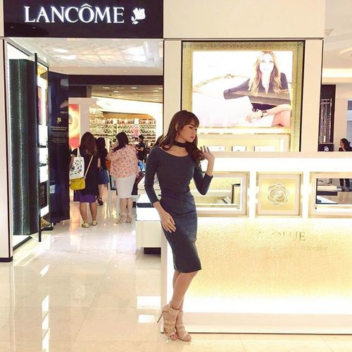 Just done pampering myself at 'BloggerBabe Gathering' by #ClozetteID #LancomeRockYourLip #Orlymiin 🎀