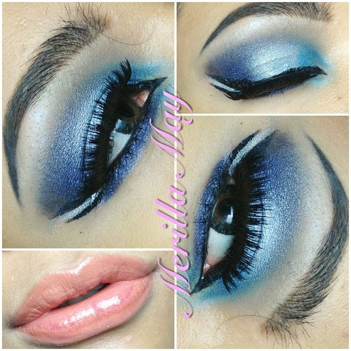 Arabian Inspired Look using NYX Dream of Antigua 5 Color Shadow Palette. :)