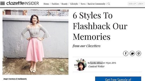 Head on to www.clozette.co.id/article/page/6-styles-to-flashback-our-memories-413 and read the latest article by @cyndaadissa on how to reminisce that good old time through fashion  Thank you for featuring my 50's look  #ClozetteID #clozettedaily #vintage #ootd #truevintageootd #lookbookindonesia #50snewlook