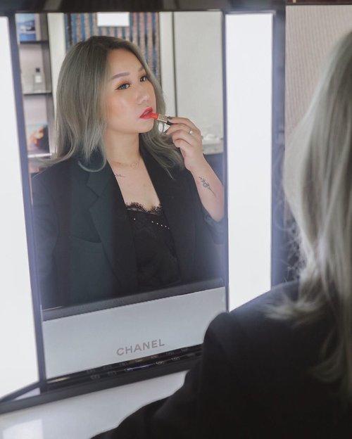for @chanel.beauty's rouge allure camelia launch, hosted by @pciamayoree🖤.thankyou for inviting me!.#chanel #chanelbeauty ............#ootd #work #party #casual #outfitoftheday #giveaway #indonesia #beatricenathania #makeup #indobeautygram #clozetteid @clozetteid @indobeautygram #tasyashoutoutfarasya @tasyafarasya #dwiendahpusparini @dwiendahpusparini #sbyglamsquad @sbyglamsquad @janineintansari @cindercella #janineintansari #cindercella #beauty #selfie #makeup #skincare #nails #hair #fragrance