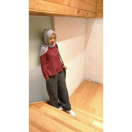 #ClozetteId #ootd #casual #look #hijaber #hijabi_outfit #myhijabstyle #simple #love