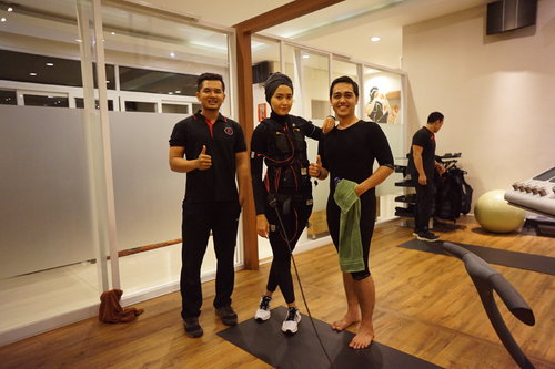 New Post on my Blog about 20Fit EMS our 1st trial www.luluelhasbu.com #ClozetteID #ClozetteIdx20FitReview