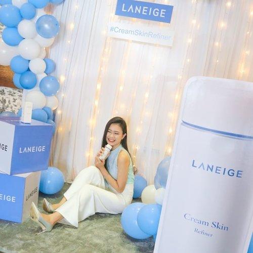 Good news, girls! @laneigeid Cream Skin Refiner is finally here 🇮🇩 .#ClozetteIDXLaneige #LaneigeIndonesia #CreamSkinRefiner #Clozetteid