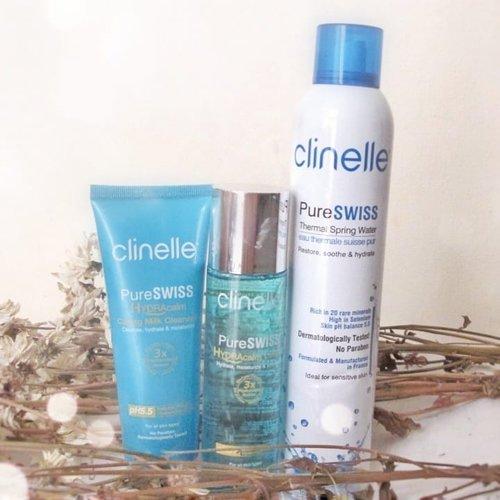 (Lanjutan dari foto sebelum ini) Nah sekitar 1.5 bulan lalu aku dikirimin produk Clinelle yang terdiri dari facial spray, milk cleanser dan toner. Awalnya mau nyobain juga ragu- ragu. Tapi ternyata toner nya cocok banget sama kondisi kulitku yang cenderung kering dan acne prone. Milk cleanser nya juga melembabkan wajah. Selain itu facial spray juga bikin wajahku lembab. Jadi sejauh ini nggak masalah dipakai bergantian sama skincare di foto sebelum ini 😁. Dan belum selesai sampai disini. Masih ada skincare lain yang aku pakai, yang aku bakal upload di foto setelah ini!. · · #skincare #skincareroutine #skintuition #drugstore #drugstoreskincare #drugstoreskincarereview #skincarethread #skincaretips #skin #facialskincare #clozette #Clozetteid #ragamkecantikan #clinelle #clinellemalaysia