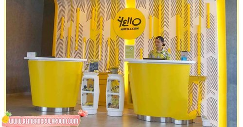 YELLO Hotel, Pecinta Kuning Wajib Nginep