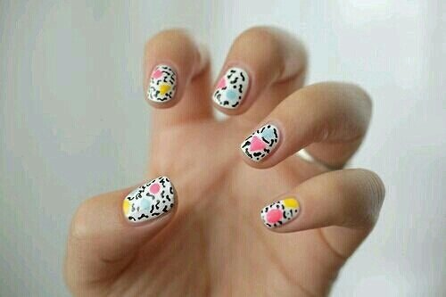 nails for today  #ClozetteID #nailsart #popart #makeup #fashion #work #beauty