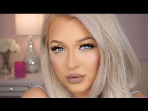 Urban Decay Alice Through The Looking Glass Palette Tutorial - Spring Glam - YouTube