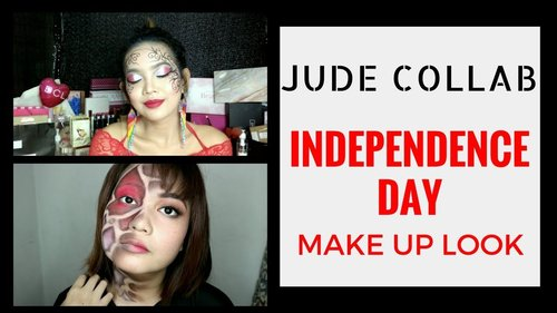 [GIVEAWAY ALERT] Kemerdekaan Independence Day Makeup Collaboration with @vazalamanda - YouTube