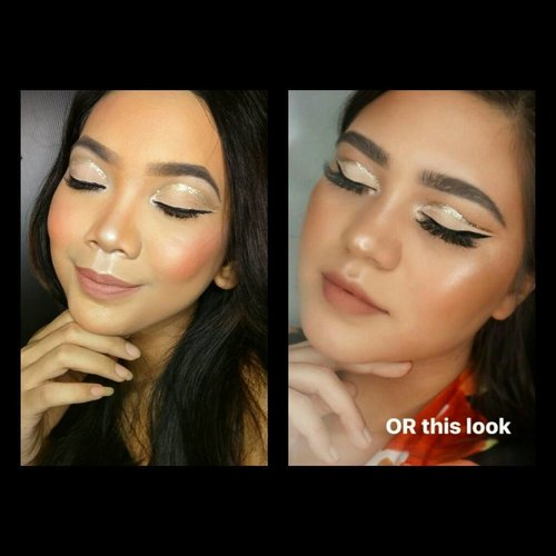 [#bubsrandomassgiveaway] Recreating Glitter Cut Crease Make Up Look by the Flawless Queen @sarahayuh_ 😍😍😍 . . . . . #glittermakeup #glittercutcrease #glitter #cutcrease #cutcreasemakeup #flawless #flawlessmakeup #bvloggerid #beautiesquad #indobeautyinfluencer #clozette #clozetter #clozetteID #beauty #makeup #beautyblogger #beautybloggerindonesia #indobeautyblogger #indovidgram #indobeautygram #indobeautyvlogger #ivgbeauty #youtubersindonesia  #indobeautygram #internationalbeautygram #undiscovered_muas  #muasocial #fiercesociety #naturalmakeup #photoshoot