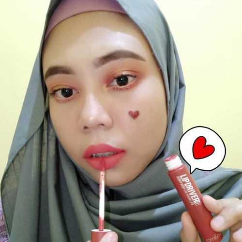 "Yayyy, i am using product from @romandyou Lip Driver shade 04 Don't Stop. A subtly seductive marsala (dried rose) shade that you just can't get enough of. Claim this product: - An exceptionally sleek yet subtly elegant marsala shade that naturally brings out your features. - natural and comfortable. . . If you want to get the product, you can visit my shop ""hicharis.net/titahin/b71"". . . #romand #hicharis #charisceleb #charisofficial #lipdriver #romandyoulipdriver #clozette #clozetteid #titahsanjana #beautiesquad #setterspace #sociollabloggernetwork #sociollablogger #hijabersbvloggerid #kbbvmember #indonesiabeautyblogger #beautyblogger #indobeautysquad #beautybloggerindonesia #beautygoersid #blogger #bloggerjakarta #instagood #instaphoto #hijabersbeautybvlogger #kbbvfeatured #jakartabeautyblogger #beautyneasiablog . . @romandyou @charis_indonesia @charis_celeb @hicharis_official"