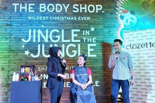 "Tips & tricks make up 💄jadi banyak pengalaman dan info baru tentang ""do and dont"" waktu kita mengaplikasikan make up ke wajah. Good sharing from The Body Shop Indonesia #jinglebells #jingleinthejungle #clozetteid #clozetteidxtbs"