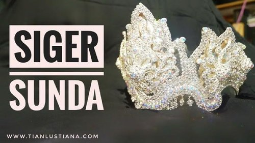 Diary Pink Tian : Menyimpan Siger dan Perhiasan Pengantin Supaya Tidak Berdebu Dengan Plastik Wayang
