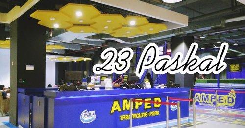 Main di Amped Trampoline 23 Paskal Bandung