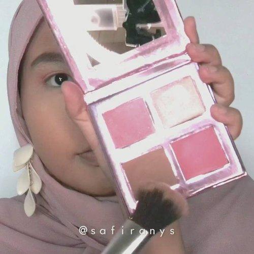IZ*ONE: Jang Wonyoung 🎀 (Pink) Tadinya mau bikin makeup ini untuk Sakura, tapi karena lipsticknya lebih ke pink yang shocking daripada kalem, akhirnya buat dek #Wonyoung ae 😆Face: @maybelline Fit Me in 128 @ltpro_official Perfect Blend in Light@thesaemid Cover Perfection Tip Concealer in shade 2 @byscosmetics_id Banana Powder @esqacosmetics #ESQAXBCL Her Everyday Cheek PaletteEyes: @makeoverid Brow Definition Kit @colourpopcosmetics Yes! Please Palette @qlcosmetics Liquid Eyeliner @getthelookid Lash Paradise Mascara Lips: #LorealInfallible Pro Matte Liquid Lipstick in Petal Potion ..#clozetteid #tampilcantik @tampilcantik @bandungbeautyvlogger #tribepost #bandungbeautyvlogger #beautiesquad #kbbvmember #makeuptuts #hijabimakeup #makeupstyle #pinkmakeup #izone #produce48 #tutorialmakeup #makeuppink