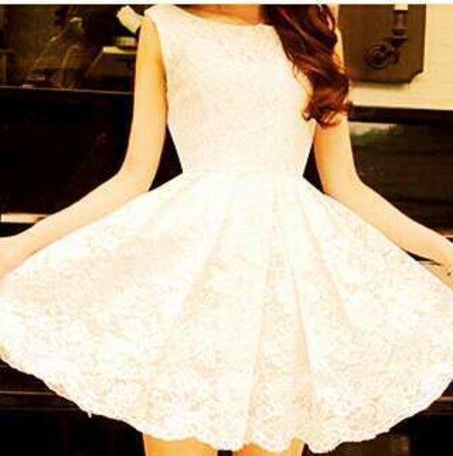 suka banget ama ni baju #likethis!#whitedress