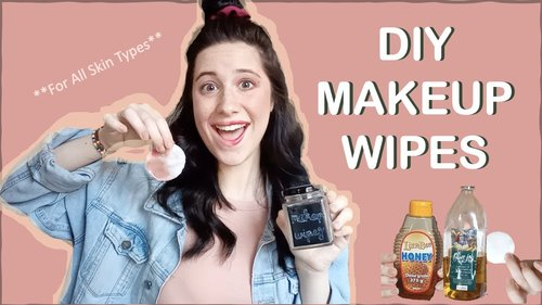 All Naturale Dupes Ep. 3// DIY Makeup Wipes - YouTube