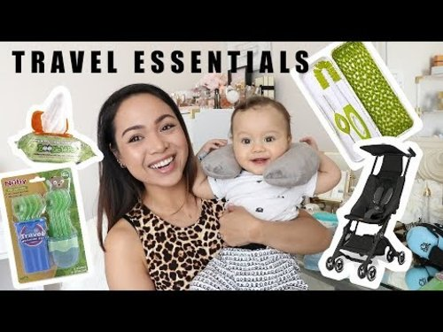 Travel Essentials Haul (For Baby & Mom) - YouTube