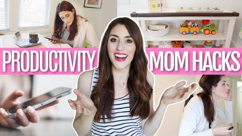 *GENIUS* Productivity Mom Hacks You Have To Try - YouTube