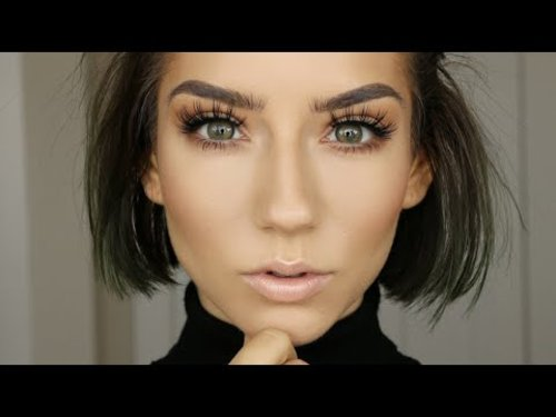 Warm & Subtle Fall Makeup | Quickie Tutorial - YouTube