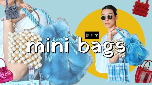 DIY MINI BAGS (so cute and tiny!) | WITHWENDY - YouTube