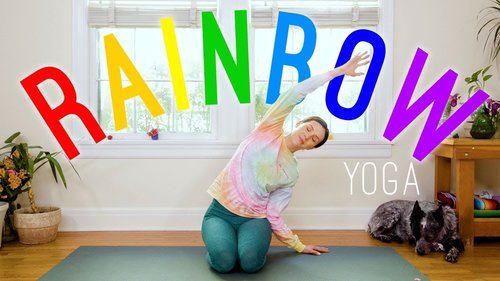 Rainbow Yoga 🌈 Yoga For All Ages!  🌈 Yoga With Adriene - YouTube